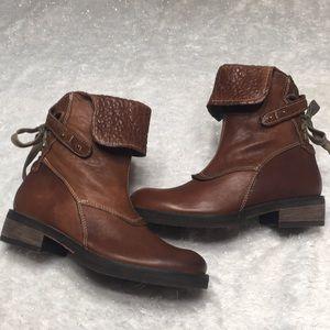 NANA brown boots EU 37 Made Italy